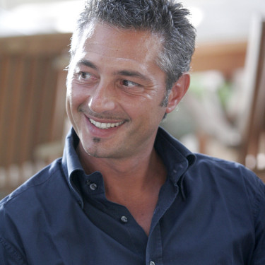 The psychologist Marco Rossi is part of the jury of the beauty contest Miss Italia © Daniele La Malfa